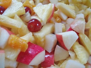 jeu d'écriture salade de fruits
