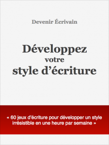 Couverture developper style ecriture