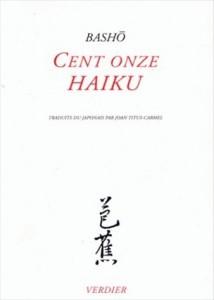 cent onze haïku de Basho