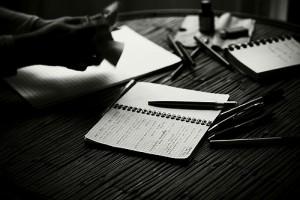 écrire des scènes